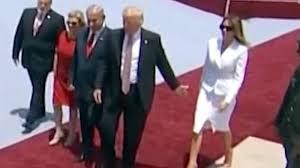 First lady's hand swat a viral sensation - CNNPolitics